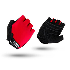 GripGrab X-Trainer Short Cycling Gloves Juniors Red